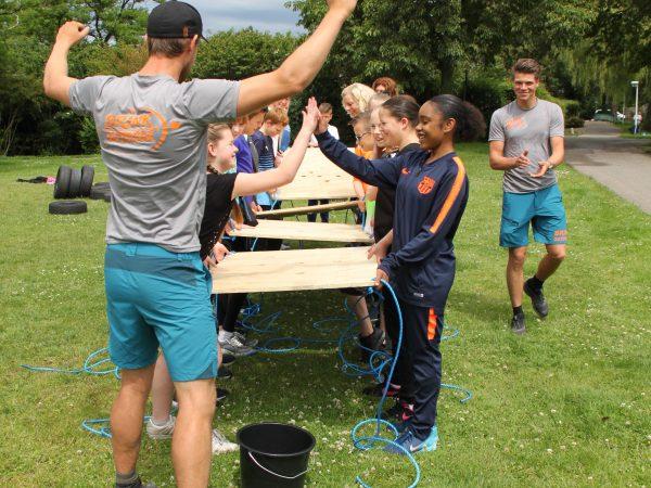 Activiteiten kinderen teambuilding